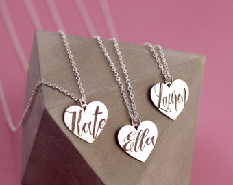 Dainty Name Necklace | Sentimental Gifts | Small Name Necklace | Best Romantic Gifts | Kids Name Necklace | Jewelry Gift For Me |