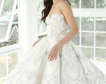 Jacy Kay Inspired Wedding Dress