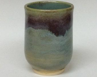 Ceramic cup, Japanese tea cup, pottery cup, hand made cup, wheel thrown cup, tea cup, pottery, hand made ceramics, ceramic dishware