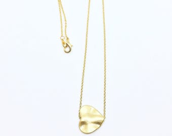 Delicate goldplated necklace