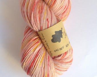 Fizz - Skein of baby alpaca hand dyed