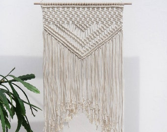 Macrame wall art, macrame wall hanging, macrame wall decor, wall hanging macrame, boho