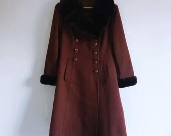 60s Faux Fur Coat