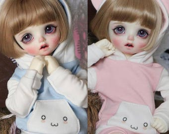 Pastel Cat Hoodie | yoSD | BJD Clothing