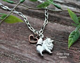 Pomeranian Necklace, Pomeranian Jewelry, Pom Mom