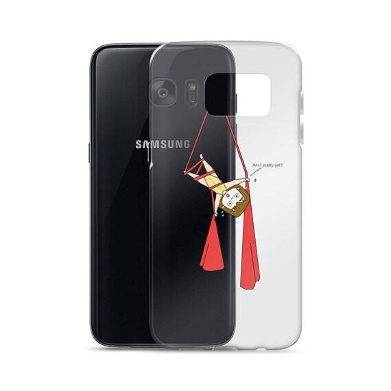 Aerial silk case, aerialist circus gift, Aerial circus, aerial problems, Samsung Case