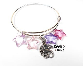 Bangle, Unicorn and pastel star