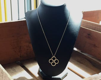 SALE:   Unique Tiffany & Co. Sterling Silver Paloma Picasso Knotted Flower Pendant Necklace