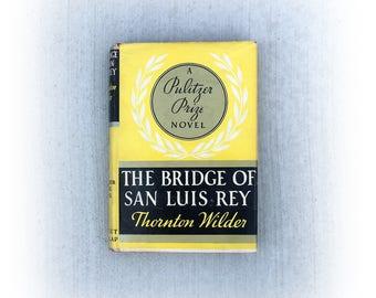 The Bridge of San Luis Rey, Thornton Wilder, Vintage Classic Book