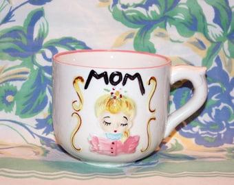 Mom Coffee Mug, 1950s, Norcrest, Japan