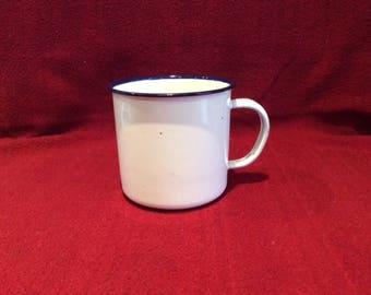Bumper Harvest Enamel Mug 8cm Tall