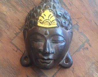 Wooden Buddha Wall Hanging