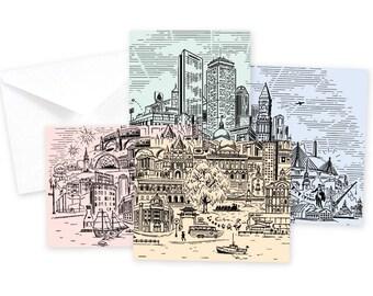 Boston Landmarks Set