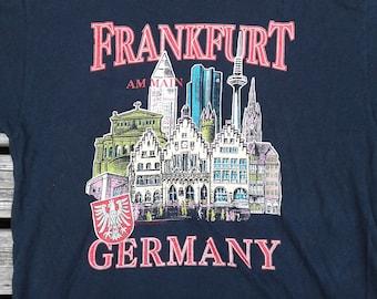 1993 Frankfurt, Germany vintage t-shirt large
