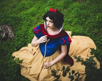 Snow White Inspired Princess Cosplay Costume