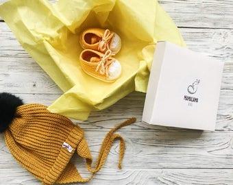Yellow Organic newborn gift Corporate baby gift Baby blessing gift Organic baby clothes Montessori baby Bring baby home Baby trends Designer