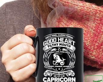Capricorn Mug, Capricorn Zodiac Mug, Capricorn Astrology Mug, Capricorn Astrology Birthday Gift, Capricorn Zodiac Sign Capricorn Cup TP5001M