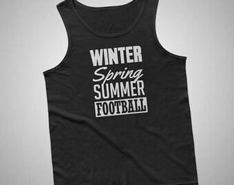 Winter Spring Summer Football Tank / T-Shirt
