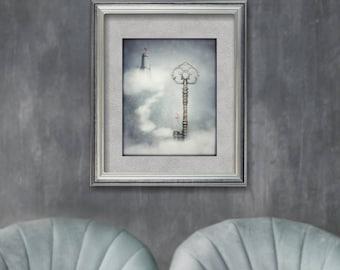 Alice In Wonderland, Fairytale Art, Whimsical, Dreamy, Photo Prints, Wall Art, Unique, Nursery Decor, Wonderland Gifts, Girls Room Art, Art