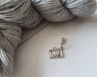 Camera Progress Keeper for Crochet -Removeable Stitch Marker for Knitting -Planner Charm -Photography -Knit -Crochet