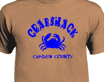 Crab Shack Camden County My name is Earl T-shirt