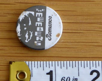 The Members - PUNK ROCK Vintage 1970s Tin Badge/Button (Original)