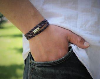 Men's Bracelet Paracord  Gift  Men's Gift Mens Paracord  Bracelet Wrap Bracelet Mens Gift Vegan Bracelet