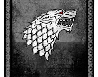 Snow lifesize banner, Game of Thrones