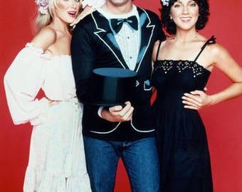 Rare THREES COMPANY John Ritter Hollywood Superstar 8 x 10 Promo Photo Print