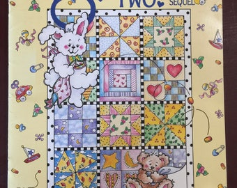 Vintage 1996 P S I Love YouTwo!, A Sequel, Nancy J. Smith, and Lynda S Milligan, Quilt, pattern book