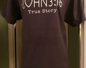 Adult Short Sleeve Tee John 3:16