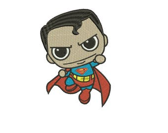 Superman Embroidery Designs Embroidery Machine Instant Download Q8103