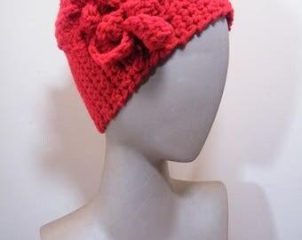 Ladies crochet knit headband /ear warmer