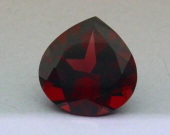 AAA Quality Natural Mozambic Garnet Heart Shape 10x10 MM.