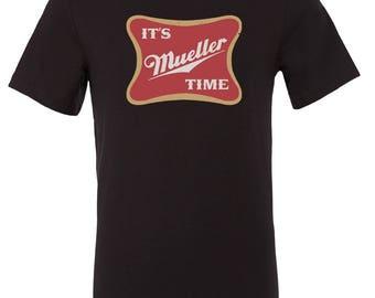 It's Mueller Time Anti Trump Shirt Robert Mueller Resist Democrat Liberal Shirt Tee Bernie Sanders