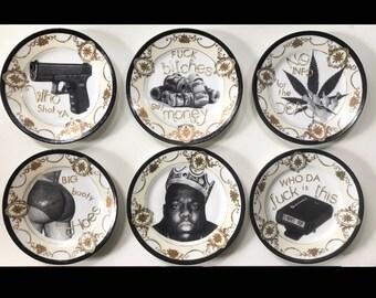 Biggie Noritake Decorative Plate Set