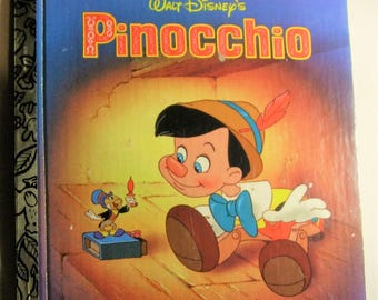 Walt Disney's Pinocchio Golden Book