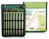 "Knitter's Pride - Bamboo - 6"" IC Aghan/Tunisian Crochet Hook Set"