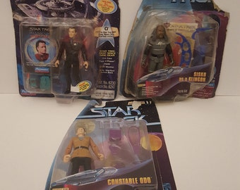 Set of 3 Star Trek Deep Space Nine Figurines
