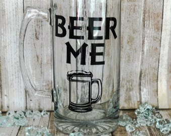 Beer Stein Mug, Beer Stein, Stein, Beer Lover Gift, Beer Glass, Beer Glassware, Mug for a Man, Mug for Dad, Mug with Saying, Beer Glass Dad