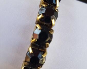 Square Red Beaded Bracelet