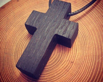 Bog Oak Cross