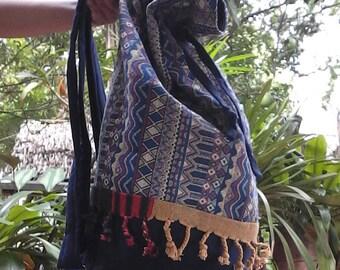 HOBO BackPack with Woven Fabric