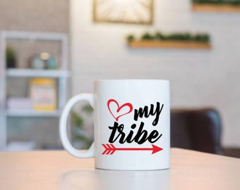 Love My Tribe | Gift for Mom | Mom Gift | Mothers Day Gift | Birthday Gift | Birthday for Mom | Mom Birthday | Gift for Her | Gift From Kids