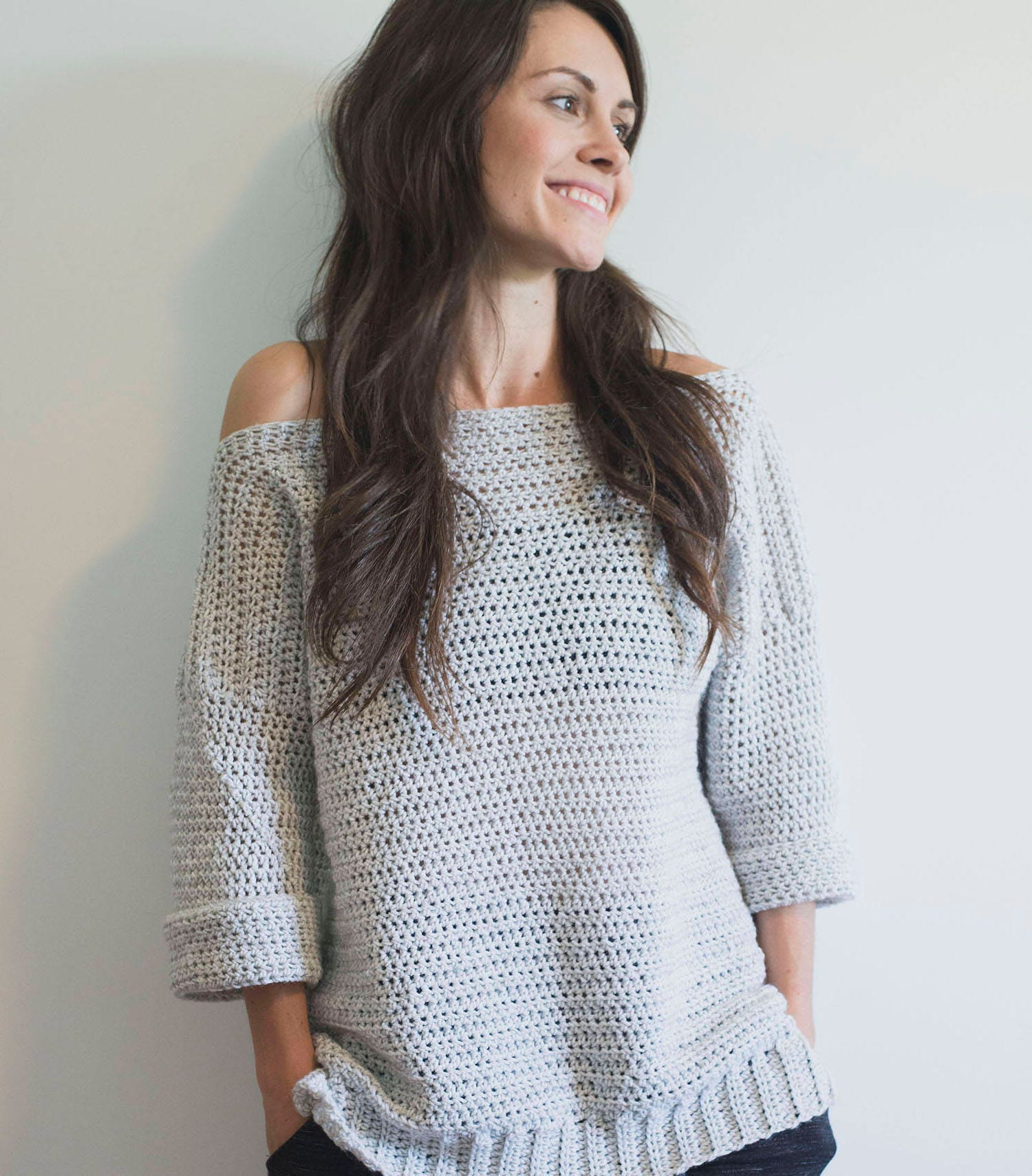 Pdf crochet pattern for the homebody sweater pullover pdf crochet pattern for the homebody sweater pullover bankloansurffo Choice Image
