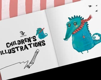 Children's illustrations, Illustrator for hire, children's book, posters, greeting cards, illustrations for kids, comic illustrations