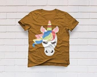 Unicorn svg, Unicorn Head svg, Unicorn Clip art, Unicorn Face svg, SVG Files, Cricut, Cameo, Cut file, Clipart, Svg, DXF, Png, Pdf, Eps