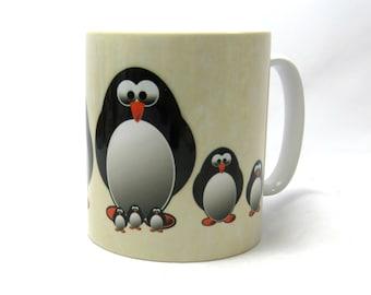 Penguin Mug Penguin Gift Cute Penguin Mug Penguin Lover Penguins Funny Penguin Mug