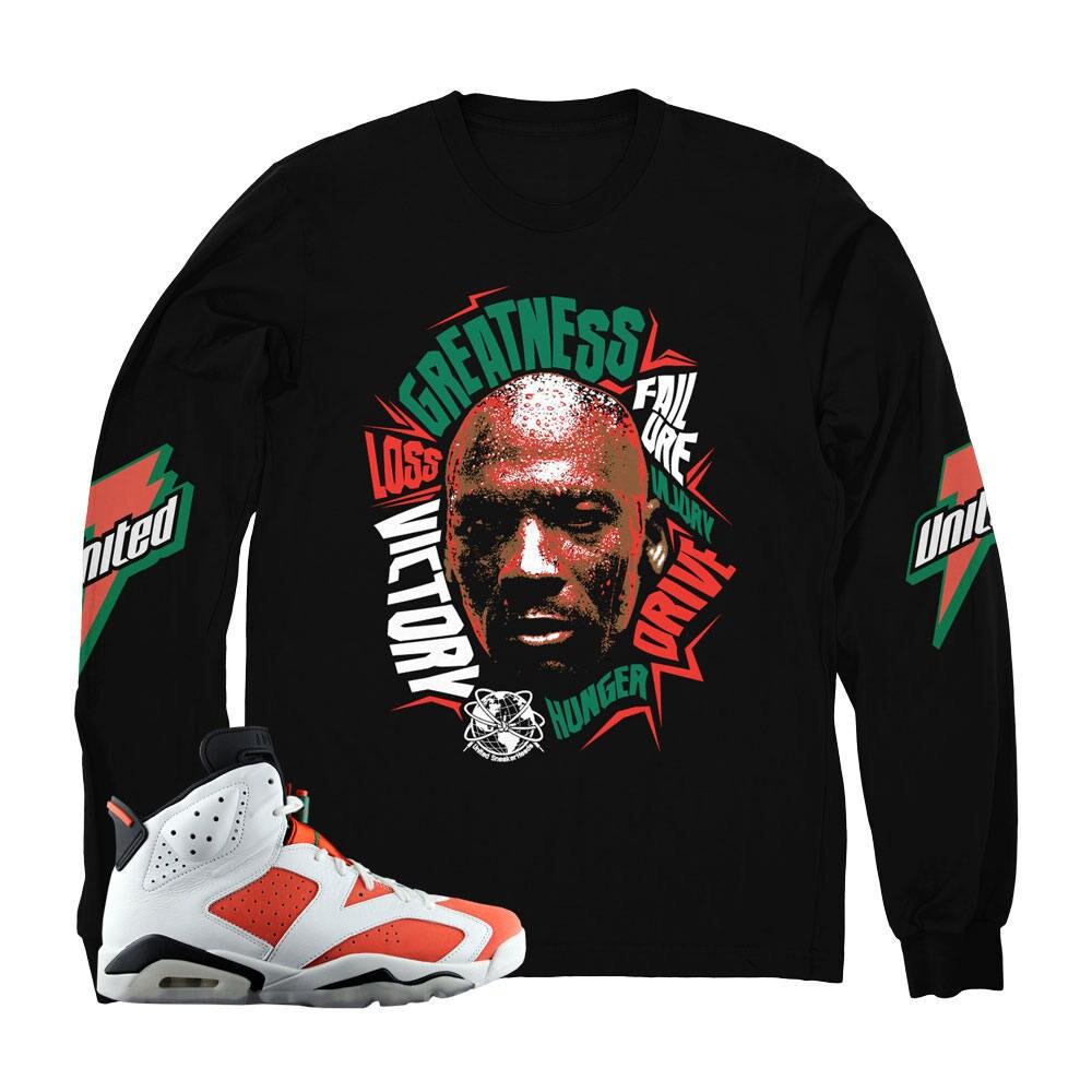 gatorade jordan 6 hooded sweatshirts match retro 6 shoes 0ef0106a9