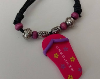 """FREE SHIPPING / Personalized Hand-Crafted Necklace / Name ''Caroline"""""""